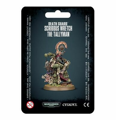 Death Guard Scribbus Wretch, The Tallyman 40k Games Workshop 20% Off UK Rrp • 13.76£