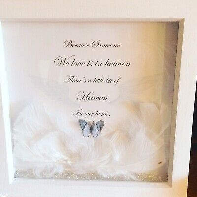 £10 • Buy Someone In Heaven Box Frame Picture