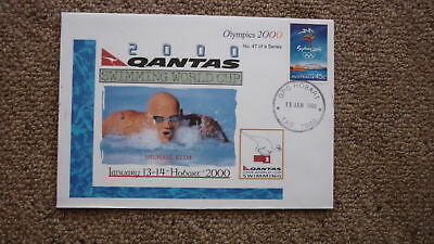$4.58 • Buy Sydney Olympic Series Test Event Cover, 2000 Qantas Swimming World Cup, Klim