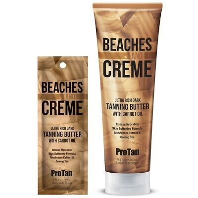 Pro Tan Beaches & And Creme Cream Dark Tanning Butter Carrot Oil Sunbed Lotion  • 19.99£