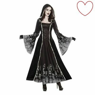 Halloween Fancy Dress Ladies Costume Gothic Bride Zombie • 25.99£