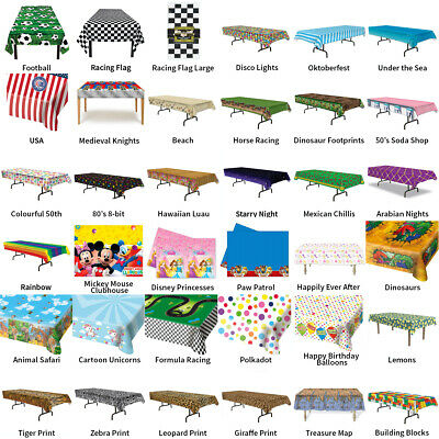 £5.99 • Buy Party Table Covers & Tablecloths - Choose Your Design