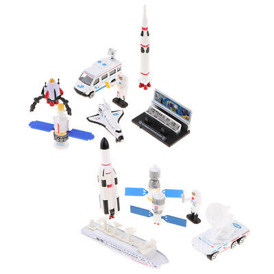 Space Exploration Rocket Space Shuttle Cosmic Satellite Set Toy Pretend Play • 9.05£