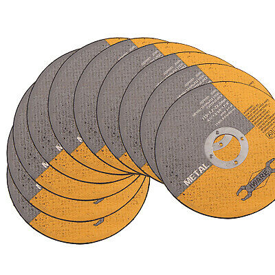 AU10.59 • Buy 10 X ULTRA THIN METAL CUTTING SLITTING DISCS 115mm 4.5 INCH FOR ANGLE GRINDER