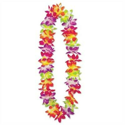 Maui Floral Lei 36  Hawaiian Luau Leis Luau Party Decorations Party Favor • 1.21£