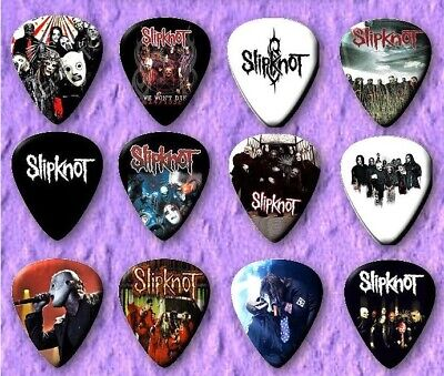 $ CDN7.85 • Buy SLIPKNOT  Guitar Picks Set Of 12