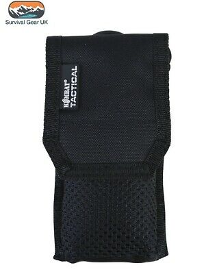 £7.50 • Buy Black Tactical Phone Pouch Sleeve British Army Webbing Phone Molle Military