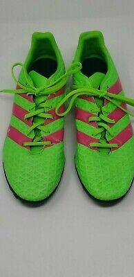 d0e154a4cd7 Adidas Ace 16.4 TF Mens Turf Soccer Football Shoes Green Size 11 AF5057 •  29.00