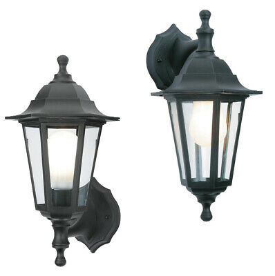 Dual Mounting Security Wall Outside Coach Lantern Outdoor Garden Light Fitting  • 11.95£