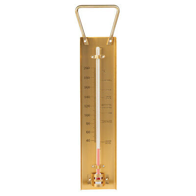 £16.95 • Buy ETI Brass Sugar Jam Thermometer Preserve Cooking Thermometer +40° To 200° C