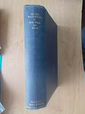 Inland Waterways Of Great Britain And Ireland - Vintage Hb Book - Canals • 14.99£