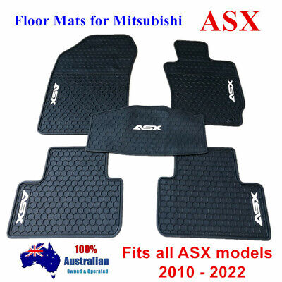 AU80.75 • Buy All Weather Rubber Waterproof Floor Mats Customized For Mitsubishi ASX 2010 - 20