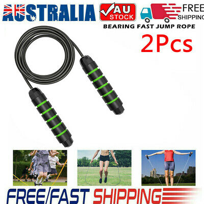 AU11.17 • Buy Heavy Weighted Skipping Jump Rope Sweat-proof Boxing Training & Resistance Bands