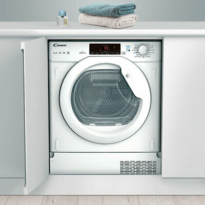 View Details New Candy CBTDH7A1TE Integrated 7Kg Heat Pump Tumble Dryer White - A+ -DELIVERY • 379.99£