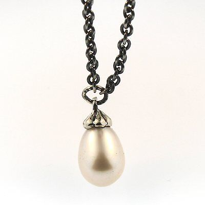 $81.60 • Buy Authentic Trollbeads Silver 23.6  Fantasy Pearl Necklace 54060