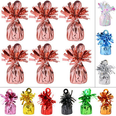 £7.45 • Buy 6 12 18 24 BALLOON WEIGHTS Latex Helium Balloons Weight Party Christmas Birthday
