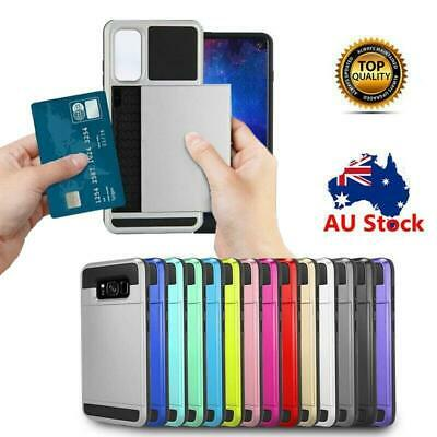 AU6.93 • Buy Samsung Galaxy S21 Plus S20 FE Ultra S10 5G S10e Case Shockproof Card Hold Cover