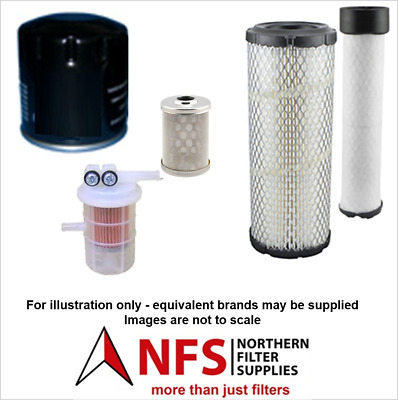 £32 • Buy NFS Filter Kit Fits Volvo EC25, EC30 With Mitsubishi S3L2 Engine