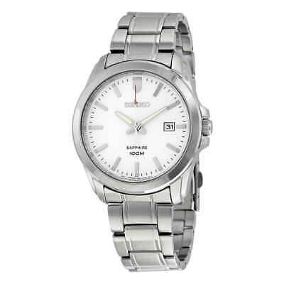 $ CDN133.96 • Buy Seiko Neo Classic White Dial Stainless Steel Men's Watch SGEH45