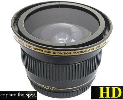 AU59.26 • Buy New Panoramic Ultra Super HD Fisheye Lens For Panasonic Lumix DMC-FZ70