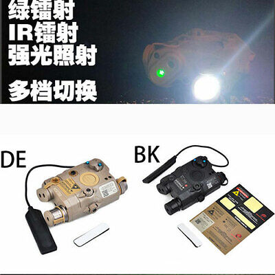 Tactical Hunting LA5-C PEQ-15 UHP Illuminator Module Green Laser Device • 64.88£
