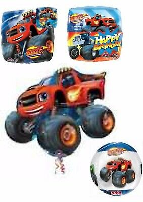 Licensed Blaze & The Machines Helium Balloons Party Ware Decoration Novelty Gift • 3.50£