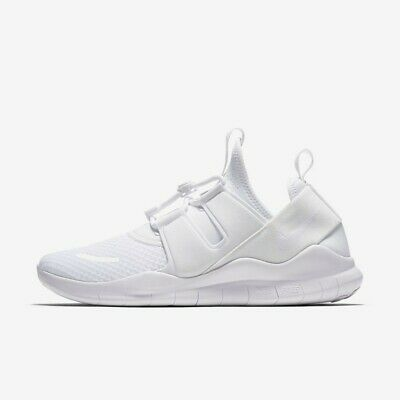 0f135d6dd9df1 Nike Free RN Commuter 2018 AA1620-100 Triple White Men s Running Shoes NEW!  •