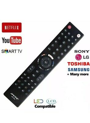 Universal Remote Control For All Brands Smart Tv,With YouTube & Netflix Option • 4.79£