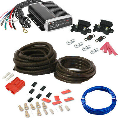 AU495 • Buy PROJECTA IDC25 DUAL BATTERY SYSTEM DC TO DC CHARGER  + Car Install Kit