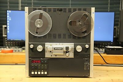 $5950 • Buy Studer A810 1/4  2 Track Reel To Reel Recorder In Excellent Condition #1 Of 4