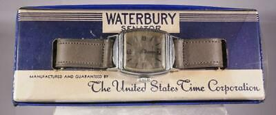 $99 • Buy Waterbury Senator Wrist Watch With Original Box New-Old Stock