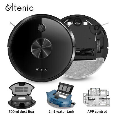 View Details Proscenic 800T Robot Vacuum Cleaner 2000Pa Alexa App Control Big Watertank 2 In1 • 199.00£