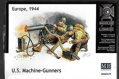 $14.07 • Buy Master Box WWII US Machine Gunners (2) W/Browning M1917A1 MG In 1/35 3519 ST