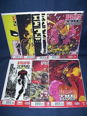 Iron Fist The Living Weapon #2- #6, #8, #9 Marvel Comics NM With Bag And Board • 18.28£
