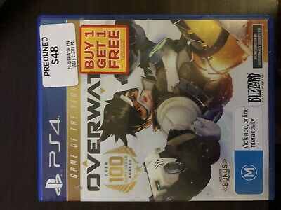 AU40 • Buy PS4 Overwatch Origins Edition - Pre Owned - Like New