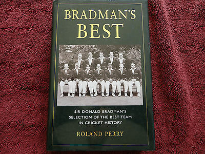 AU20 • Buy Bradman's Best   By   Roland Perry (hardcover Book)