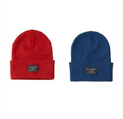 5c3247dc56c8b Authentic Abercrombie   Fitch Turn Up Beanie—Red Or Blue—Originally  20 •  10.00