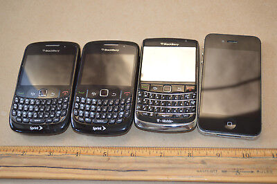 $ CDN72.90 • Buy Lot Of 4 Phones Blackberry Bold I Phone A1349 Smartphones As-Is #2058