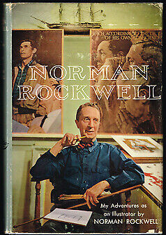 $ CDN35 • Buy Norman Rockwell My Adventures As An Illustrator / First Edition 1960