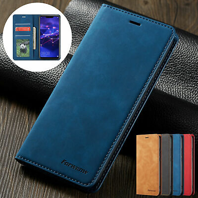 Luxury Leather Case For Huawei P30 Pro P30 Lite P20 Flip Wallet Stand Card Cover • 5.99£