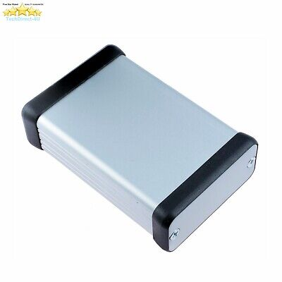 Hammond Extruded Anodized Aluminum Project Box With Metal End Panels 1455C1201 • 12.99£