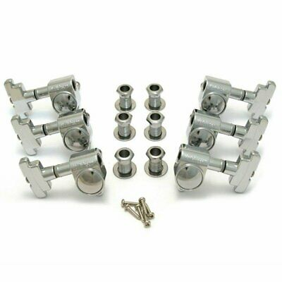 $ CDN35.99 • Buy Wilkinson Guitar Tuners Chrome 3x3 Imperial Style Guitar Tuning Pegs WJ-309-CR