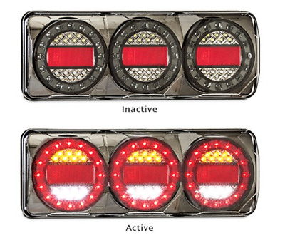 AU450 • Buy PAIR LED AUTOLAMPS COMBO LIGHTS 4X4 4WD TRAILER CAMPERS UTE TRAY Maxilamp C3XRW