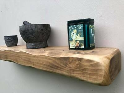 Rustic Floating Shelf Wooden Mantle Mantel Fire Surround  8  X 4   200mm X 100mm • 124£
