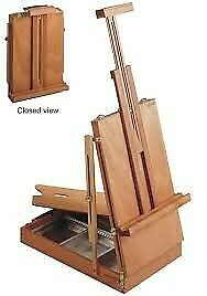 £188.73 • Buy MABEF M24 Sketch Box Table Easel Oiled Beechwood