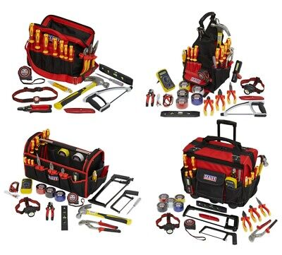 Sealey Electrician's Tool Kit With Storage Bag Heavy Duty • 189.95£