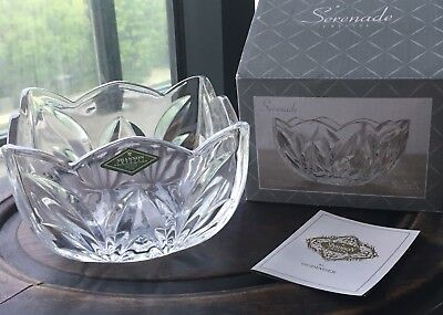 $21.99 • Buy Shannon Crystal By Godinger - Serenade Square Bowl - With Original Box