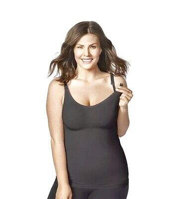 $26.99 • Buy Bravado Designs Body Silk Seamless Nursing Camisole Tank Size L Black 7701 NWT