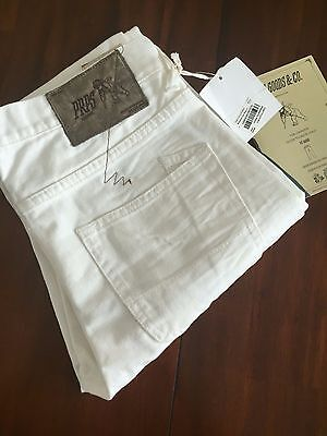 PRPS GOOD AND CO WHITE DENIM RAMBLER SKINNY FIT ( W31-L 34 ) • 214.21£
