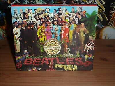 £5.99 • Buy THE BEATLES Sgt. Pepper's Lonely Hearts Club Band CD With Slipcase (1987)